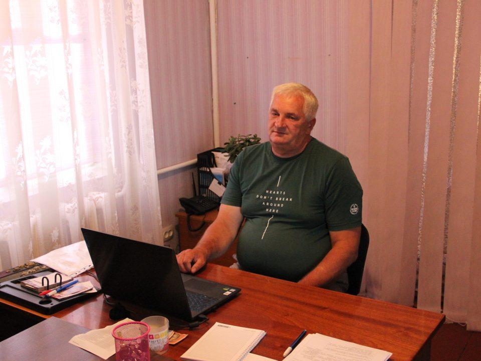 Юрій Недашкіський - старост села Ніжиловичі Макарівської громади на Київщині