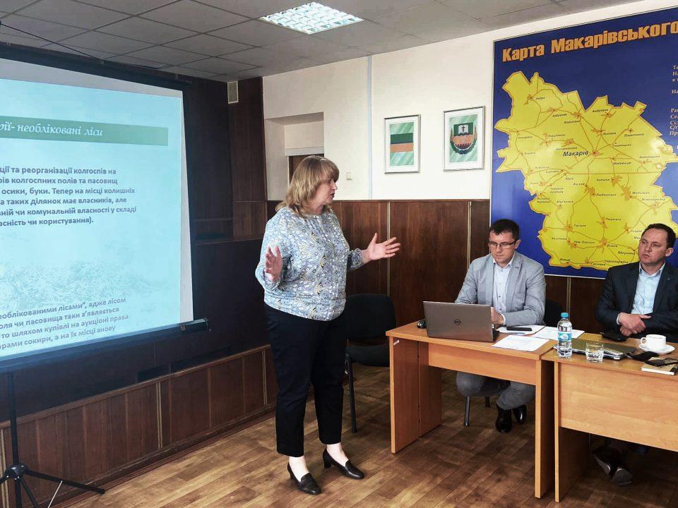 В Макарівській селищній раді просять долучатися до розробки проектів розвитку громади