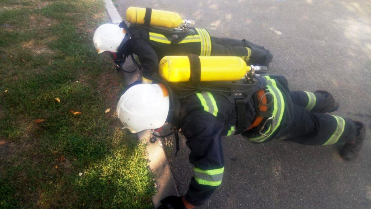 Рятувальники у Макарові пройшли тренування