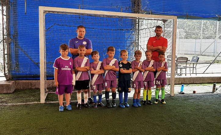 Діти з Макарівської громади беруть участь у міжнародному футбольному турнірі