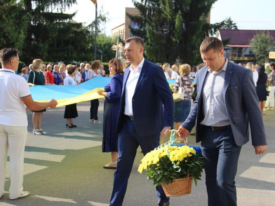 День Державного Прапора України у Макарівській громаді.