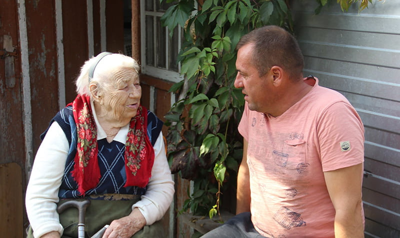 Жительці Макарівської громади виповнилось 100 років