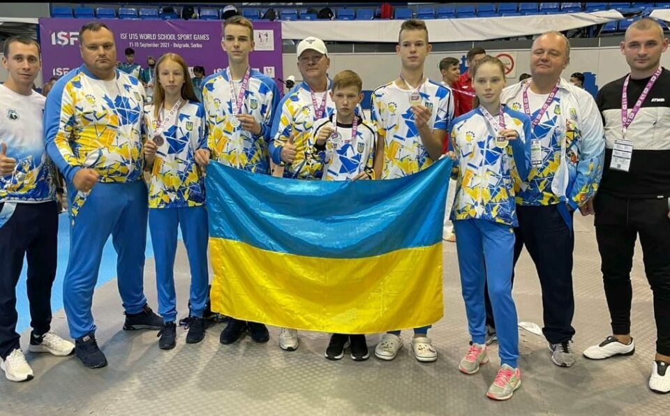 Спортсмени Київщини стали чемпіонами. Фото: прес-служба КОДА.