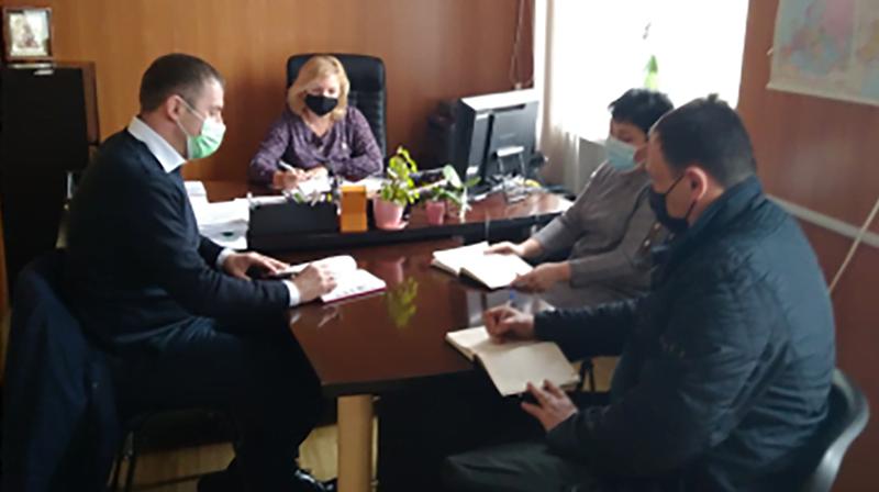 У Макарові відбувся круглий стіл. Фото: ДПС.