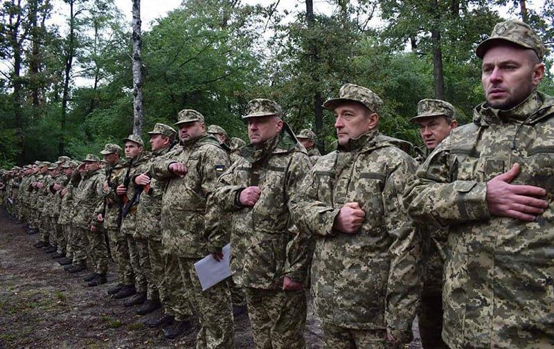 Макарівський селищний голова Вадим Токар під час військових навчань знаходиться на посаді заступника командира батальйону територіальної оборони