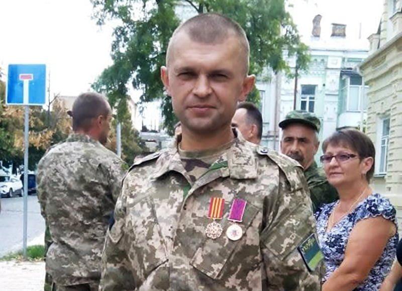 """Олександр Ковальчук, який перебував у лавах батальйону """"Миротворець"""" та став учасником Іловайської трагедії"""